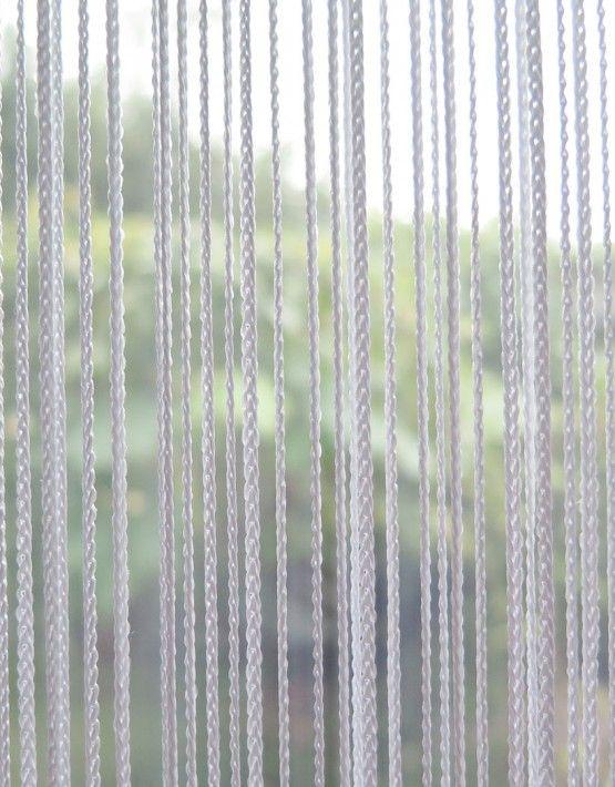 Fadenvorhang Orienta Weiss Fadenvorhange