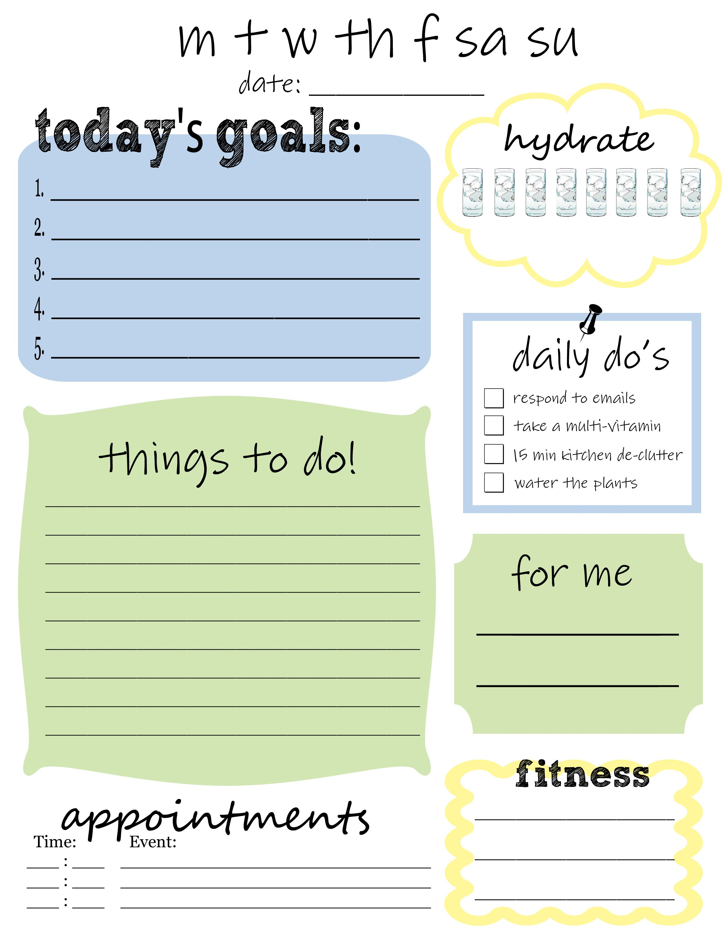 to do list templates word