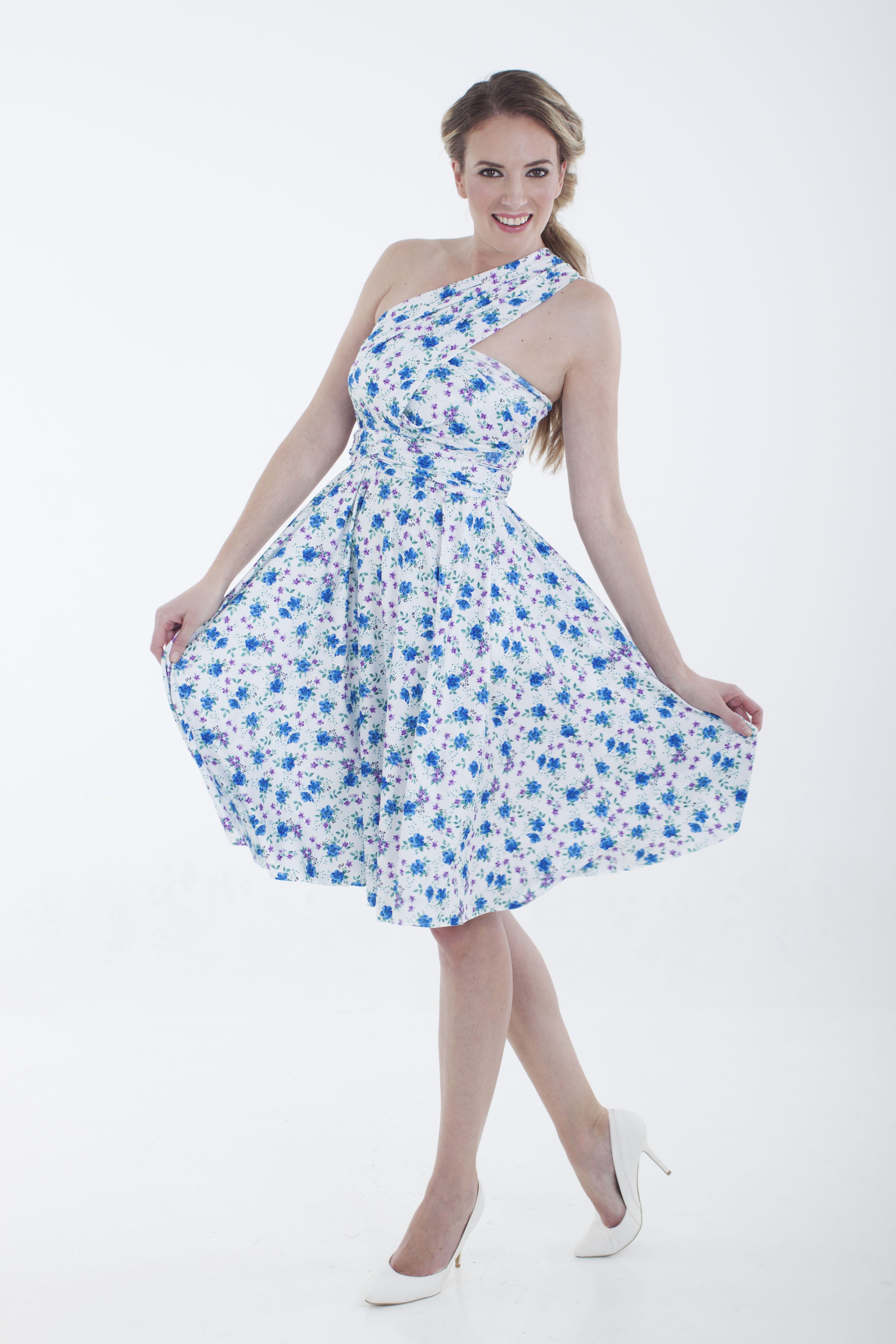 Floral Infinity Dress R599 www.infinity-dress.