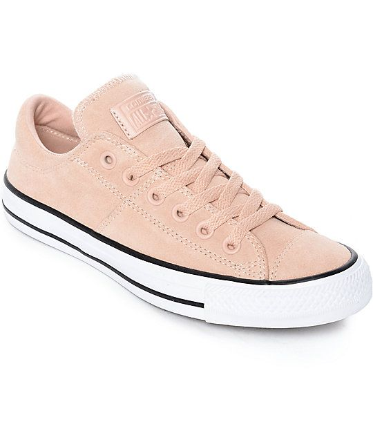 165ed8fd Converse Chuck Taylor All Star Ox Madison Dust Pink Suede Shoes ...