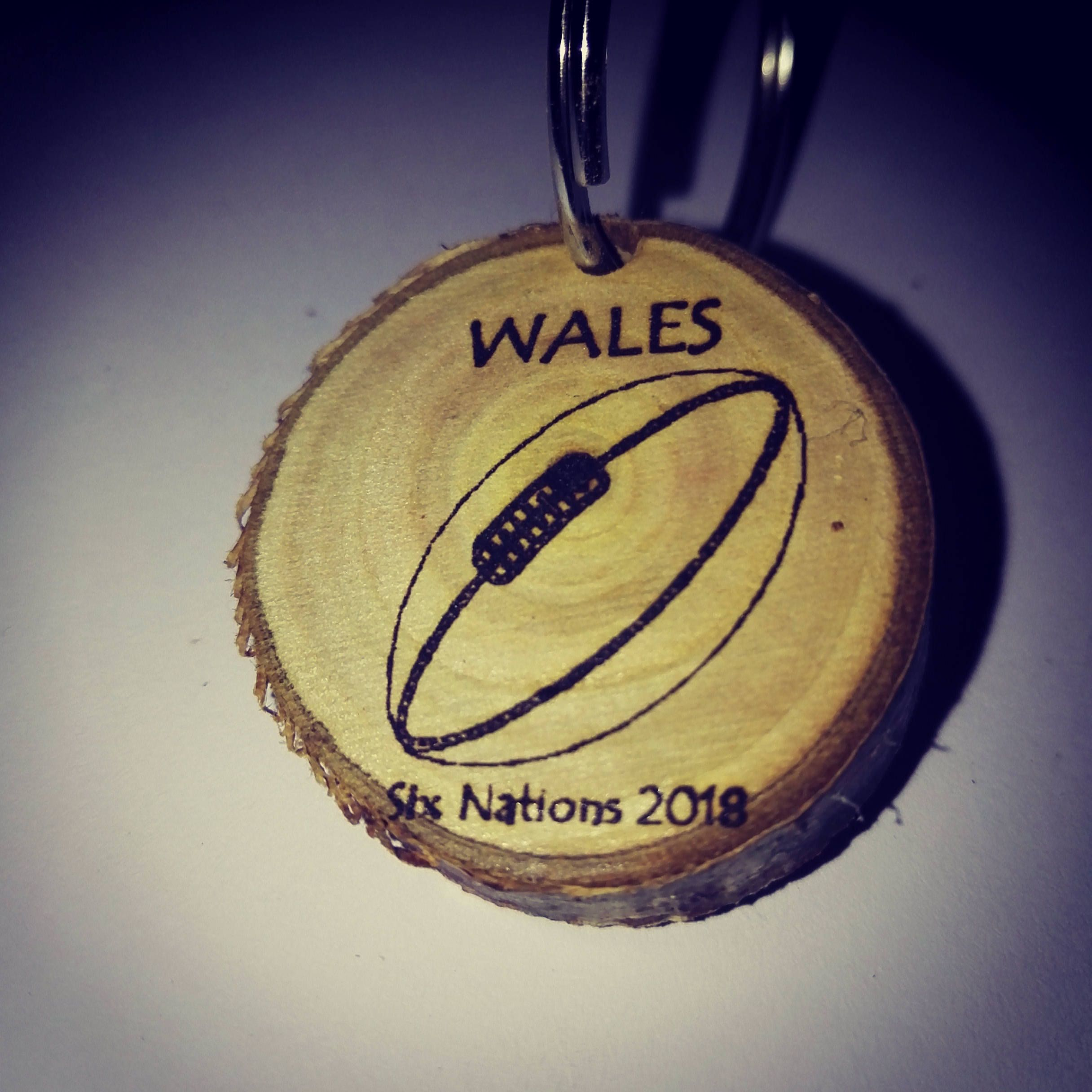 Ruby Six Nations Personalized Engraved Wales England Key Fob Key Ring Air Freshener Gift For Her Gift For Him Free E Gifts For Him Gifts For Her Six Nations