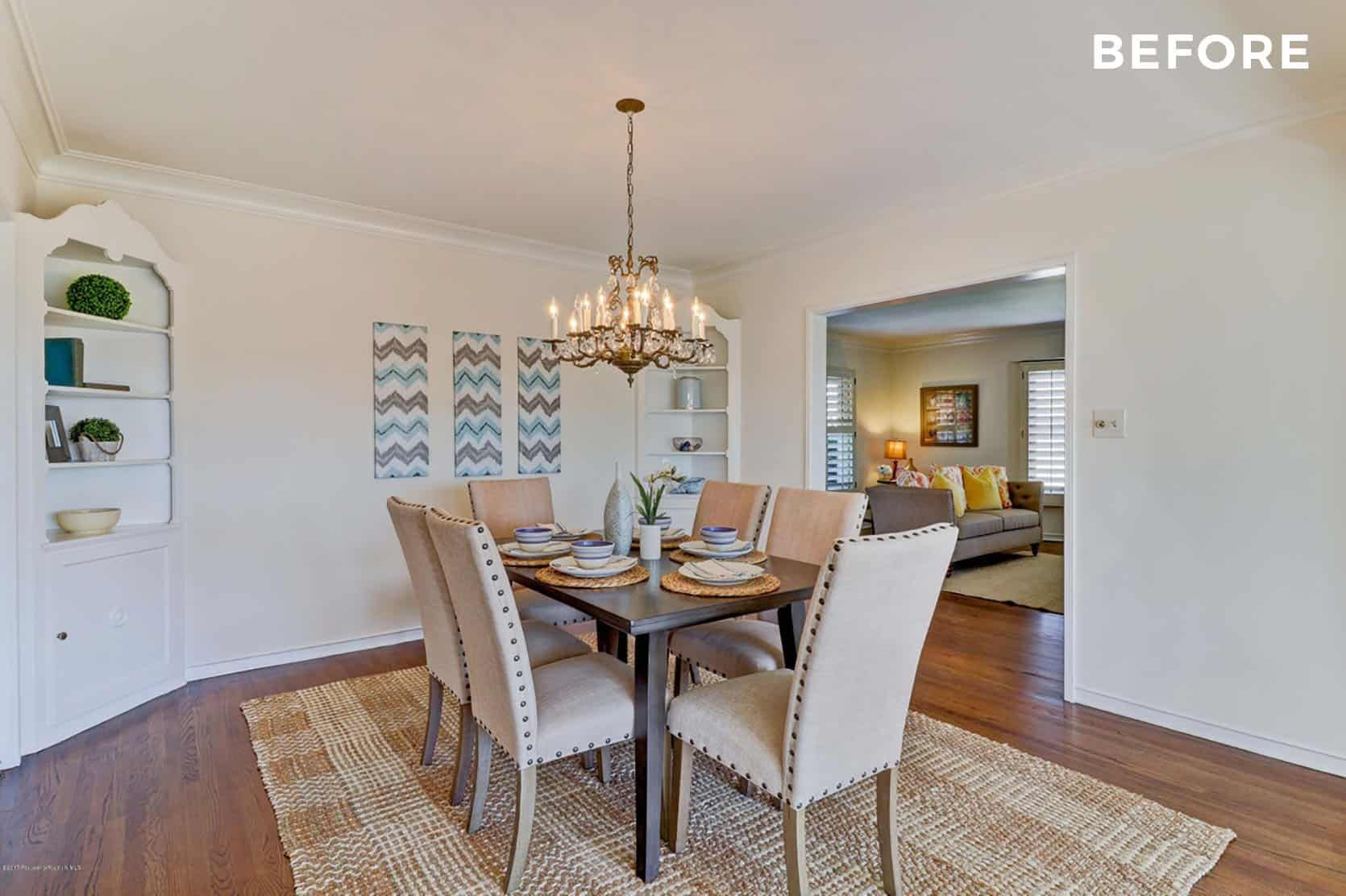 The No Reno House That Looks Completely Renovated Emily Henderson In 2020 Emily Henderson Living Room Dining Room Renovation Dining Room Paint Colors