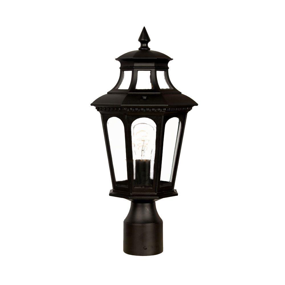 acclaim newcastle collection 1 light post lamp landscape ideas