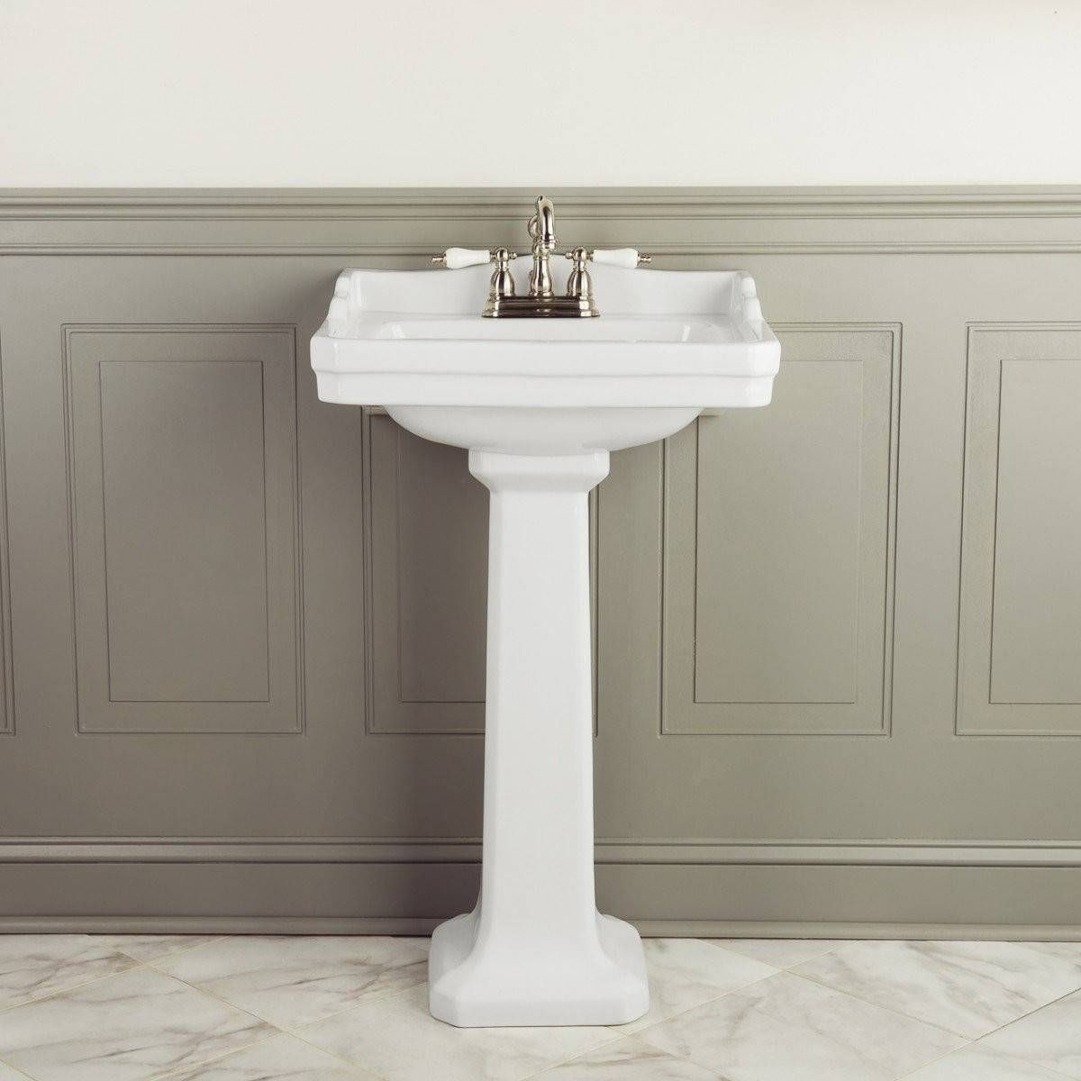 Zurich Matching Sink Toilet Set 4 Inch Faucet Drillings