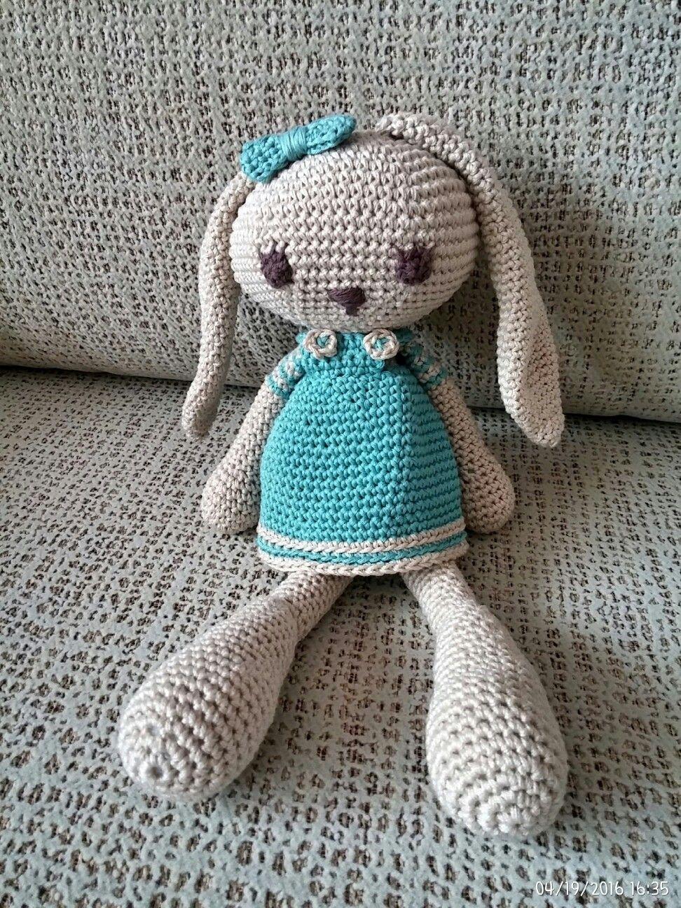 Conejita de orejas largas de Creativa Atelier, visita mi blog http://by-itsasca.blogspot.com.es