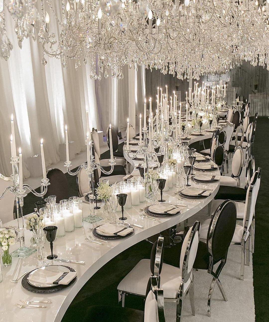 Truubeautys Wedding Tablescapes Glamorous Wedding Wedding Decorations