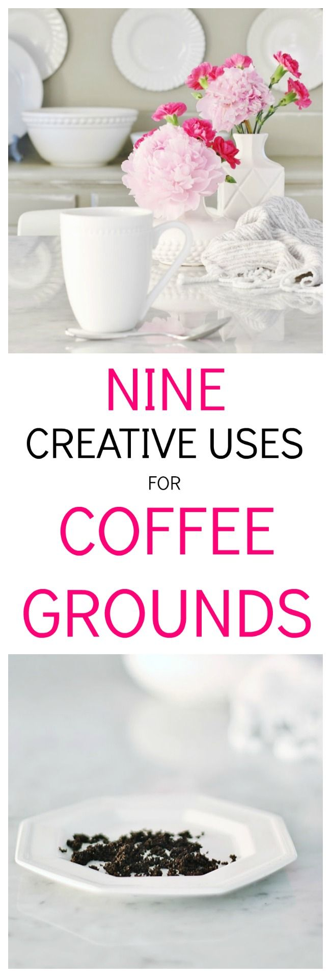 9 Creative Uses For Coffee Grounds Thistlewood Farm In 2020 Uses For Coffee Grounds Romantic Home Decor Coffee Grounds