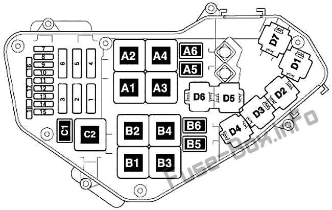 2007 audi q7 fuse box diagram