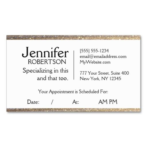 Appointment reminder template business card appointments business appointment reminder template business card cheaphphosting Image collections