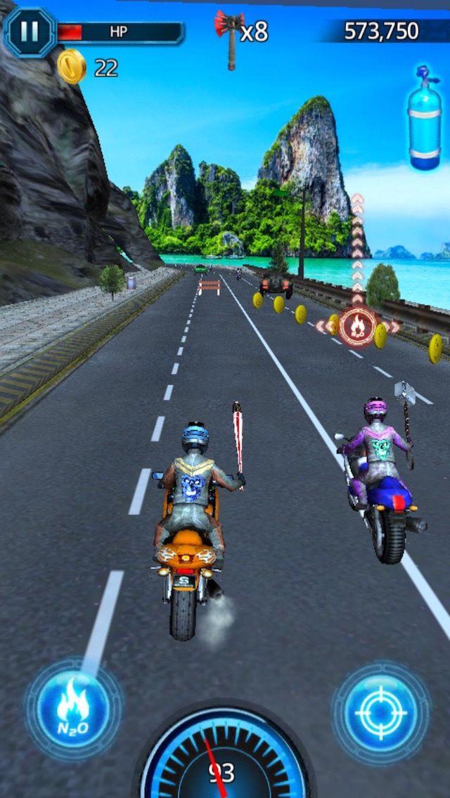 3d Racing In Traffic Bike Racer Road Rider Car Free Games