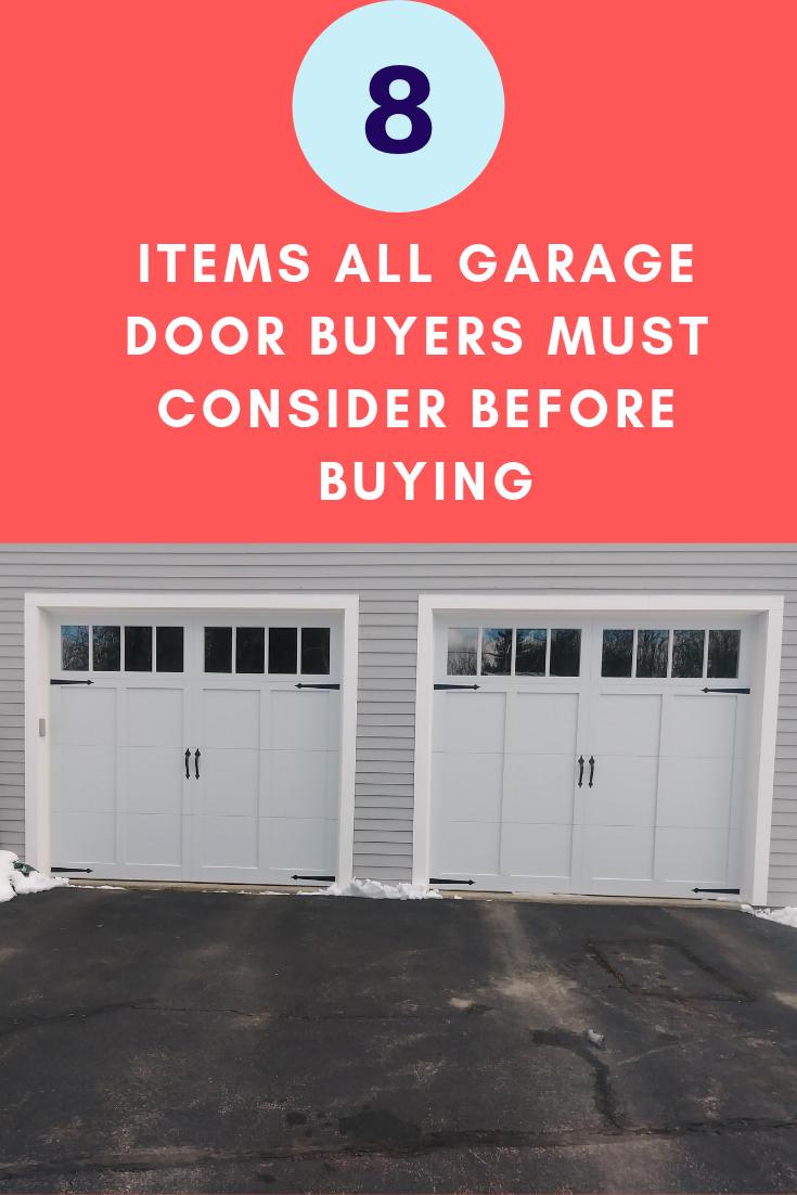 Buy A New Garage Door Repair Or Replace How Long Do Garage Doors Last Aluminum Steel Vinyl Which Door Garage Doors Garage Door Springs Garage Door Design