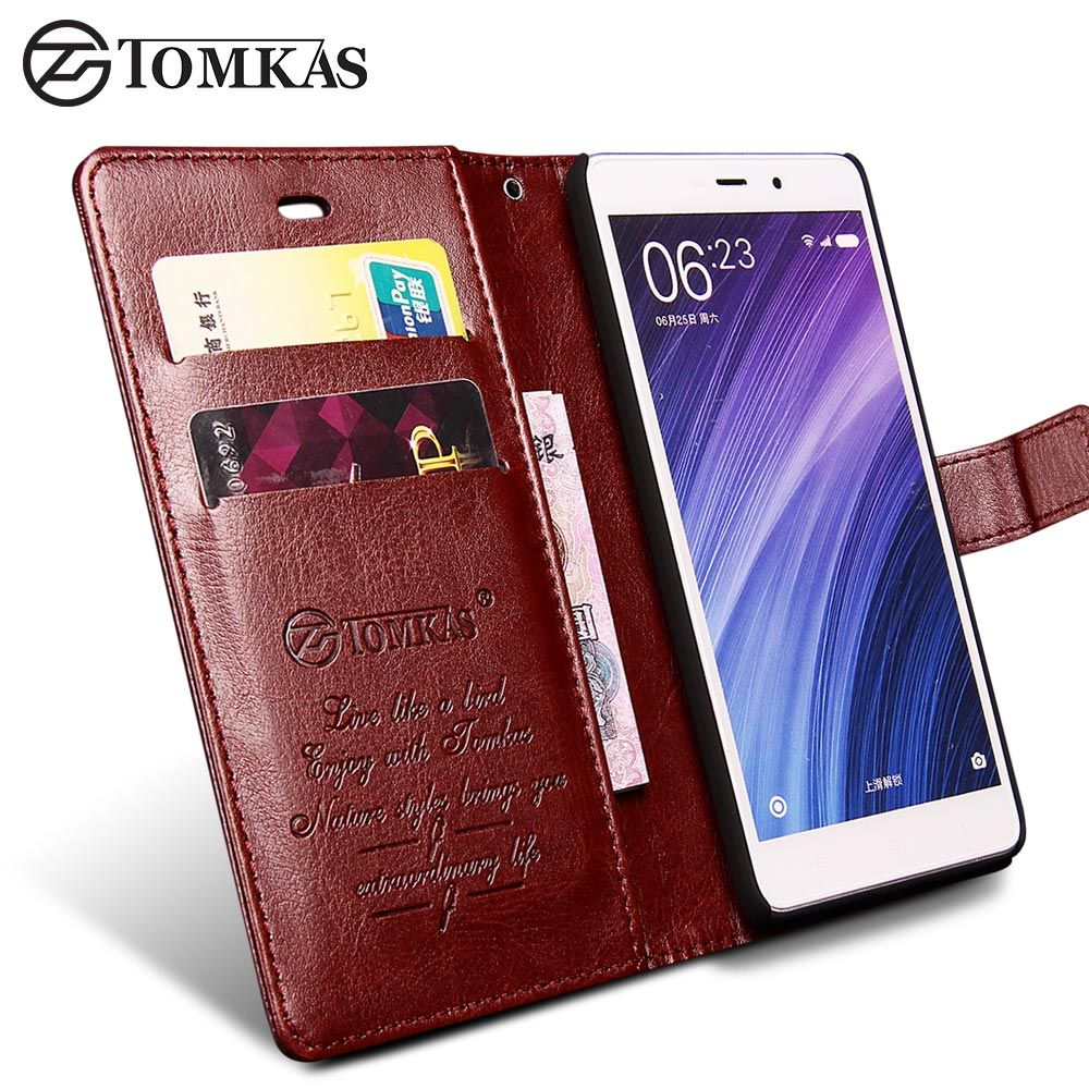 Xiaomi Redmi 4 Pro Case Cover Tomkas Original Flip Lcd Touchscreen Plus Frame 3 3s 3x 3pro Wallet With Stand Leather For Prime