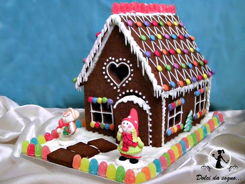 Casette Dolci Di Natale.Casetta Di Pan Di Zenzero Gingerbread Houses Ricette Di