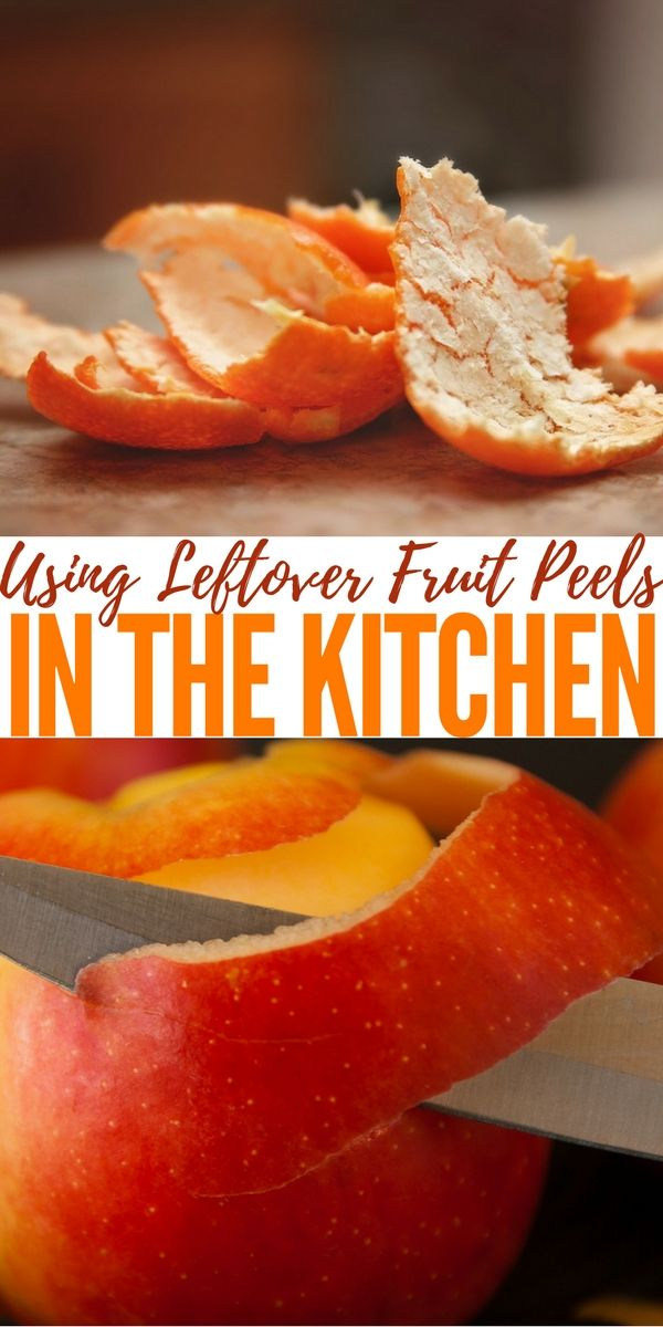 Using Leftover Fruit Peels in The Kitchen — Being frugal is the essence of emergency preparedness. No matter how you look at it, emergency preparedness is about reusing what you have. It doesn't matter if you're traveling into the wilderness or if you are in cooking in the kitchen.