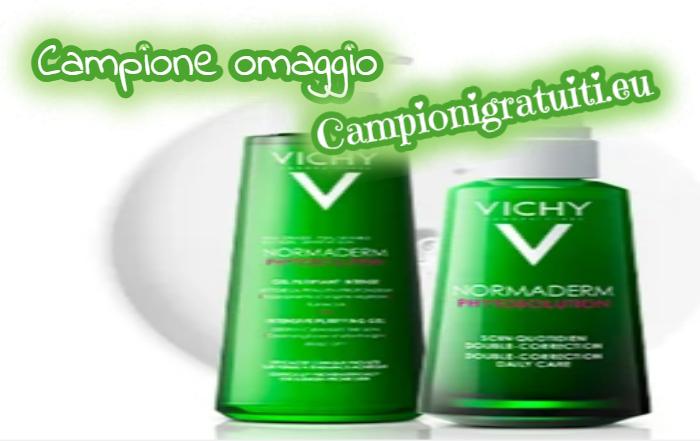 Campione Gratuito Gel Detergente e Trattamento Correttivo Normaderm Phytosolution offerto da Vichy