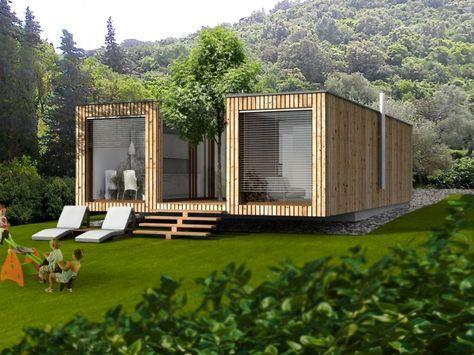 Montazna Hisa Ek 007 Containerhauser Architektur Haus Architektur