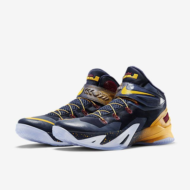 Nike Zoom LeBron Soldier 8 FlyEase Men's Basketball Shoe.
