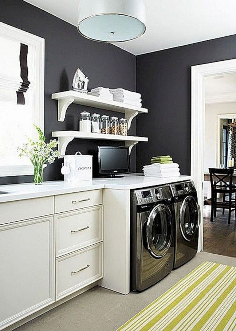 40 extraordinary laundry room decor ideas for small spaces on best laundry room designs id=48112