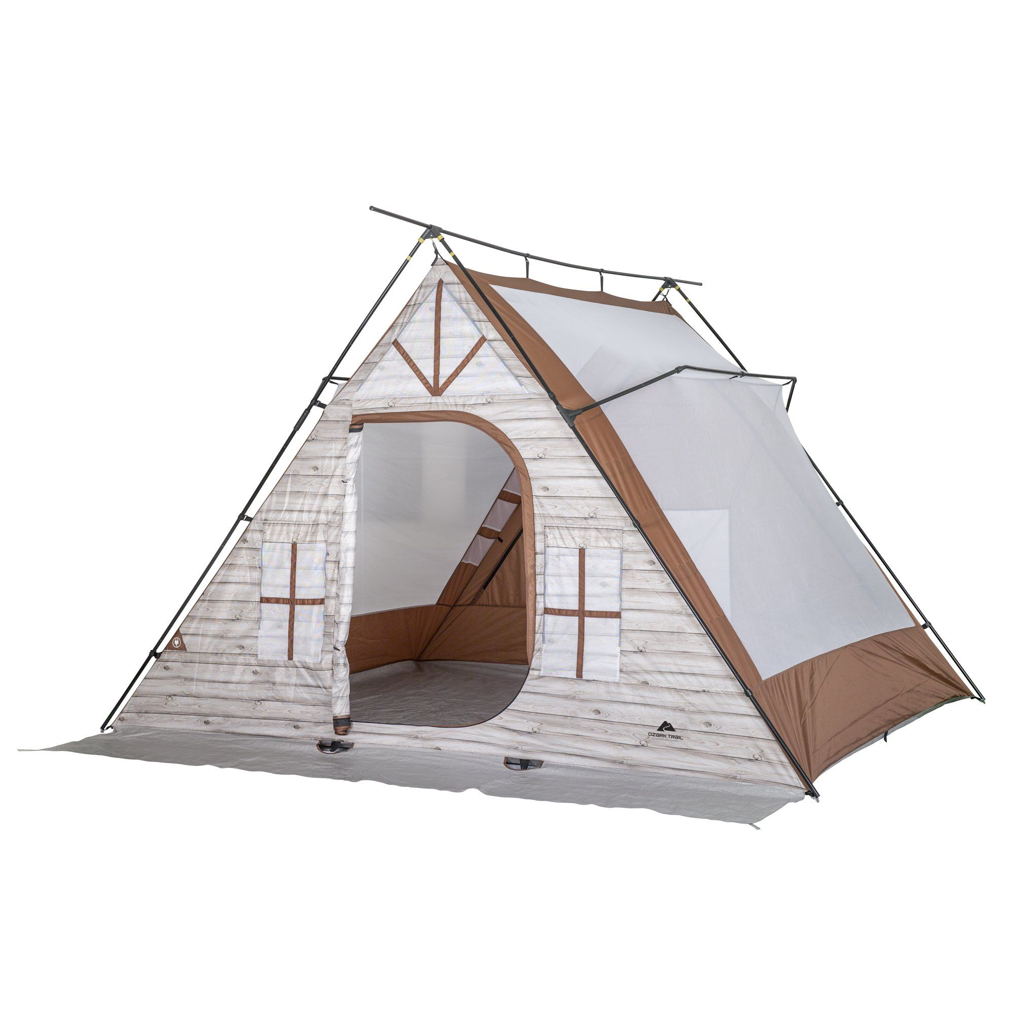 Ozark Trail 8 Person A Frame Outdoor Cabin Tent Walmart Com In 2020 Cabin Tent A Frame Tent Tent