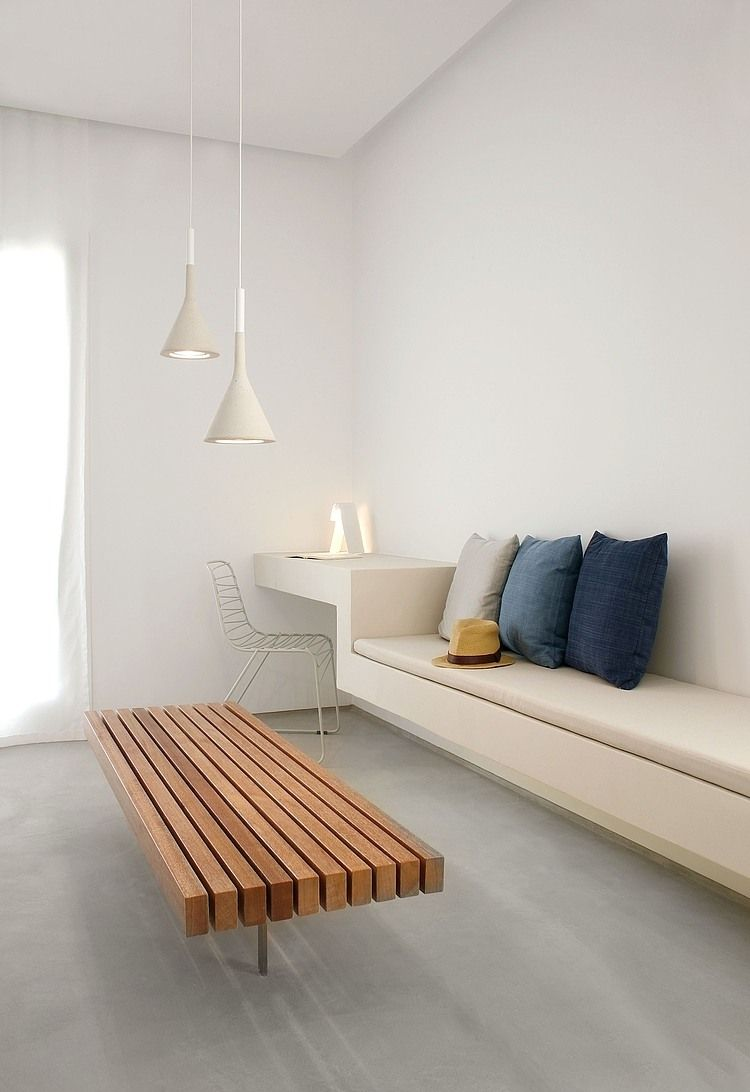 Bettsofa Ypperlig Modern Minimalist House Design With White Color Minimalist House