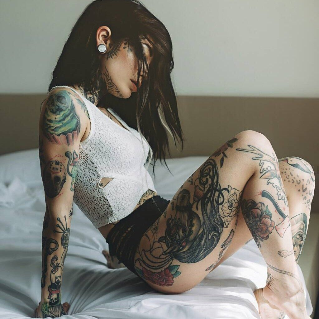 Pin By Aurelie Platteborse On Outfits Girl Tattoos Tattoos For