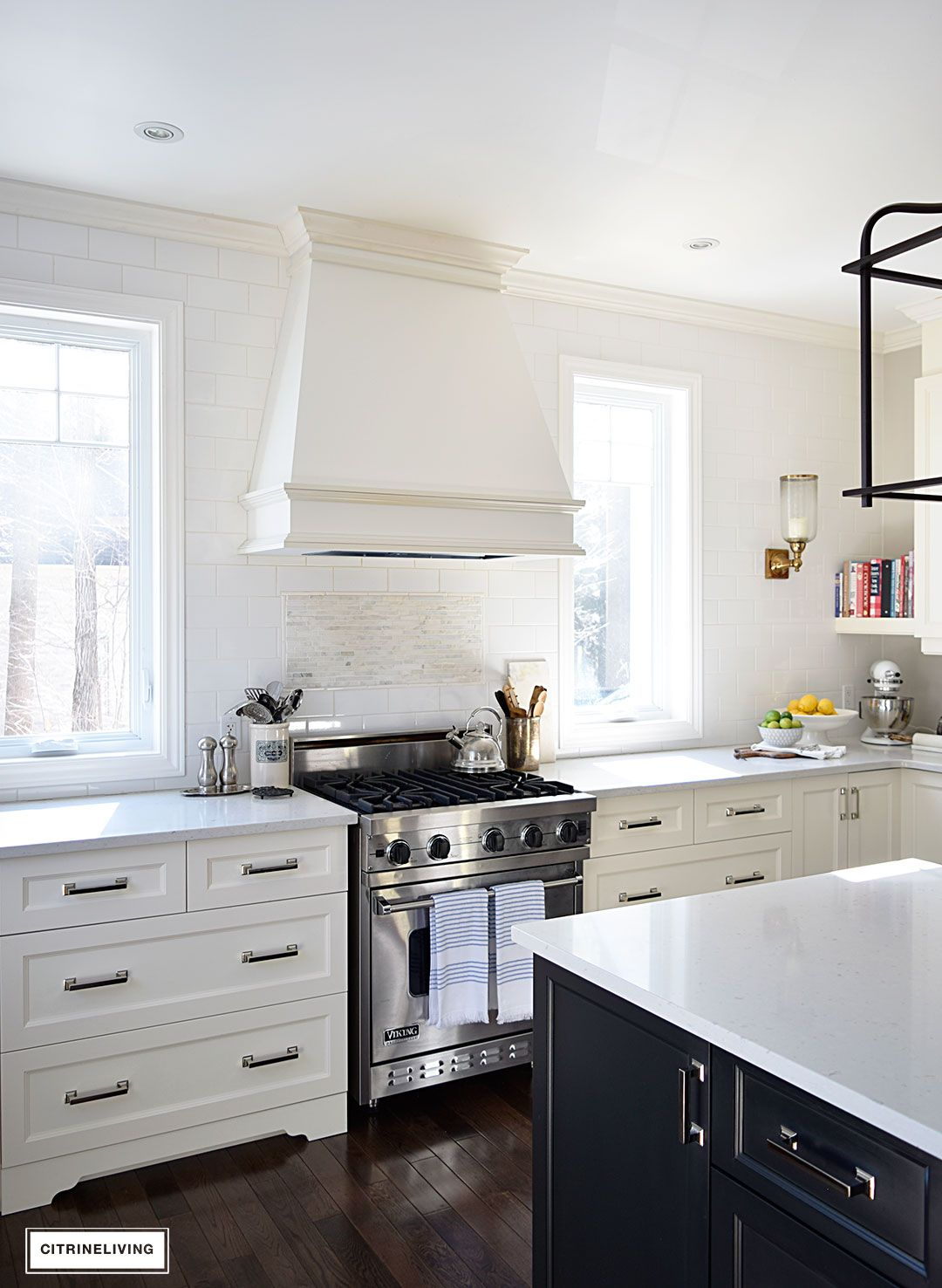 No Upper Kitchen Cabinets How I Define My Own Signature Personal Style Kitchen