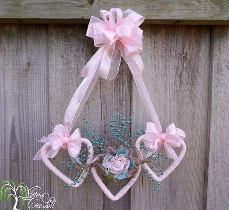 Photo of Cute Shabby Chic Valentines Decoration Ideas For Your Home 17