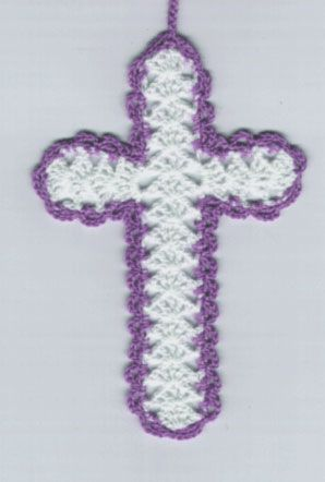 free+crochet+cross+bookmark+patterns+to+print | CROSS BOOKMARK ...