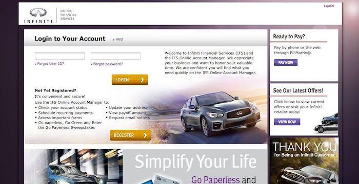 Infiniti Bill Pay Online, Login, Customer Service & Sign
