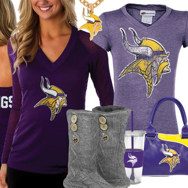 online store ca202 96f4b Cute Minnesota Vikings Fan Gear | Minnesota Vikings Fashion ...