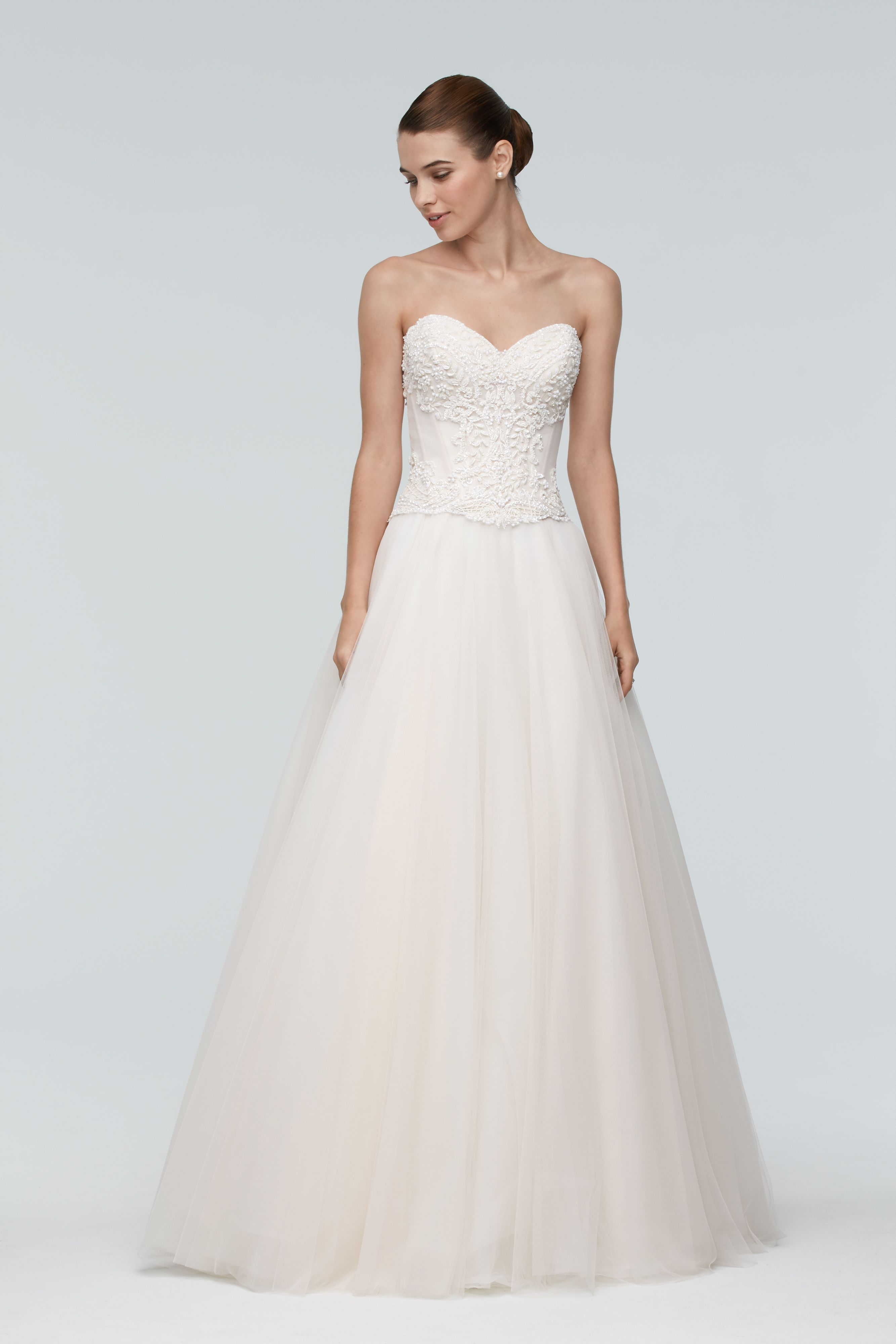 Shop Designer Bridal Gowns Like The Keo Corset By Watters And Other Accessories At Blush