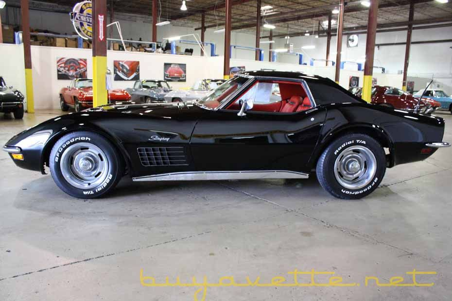 1971 Corvette 454/365hp Convertible For Sale Corvette