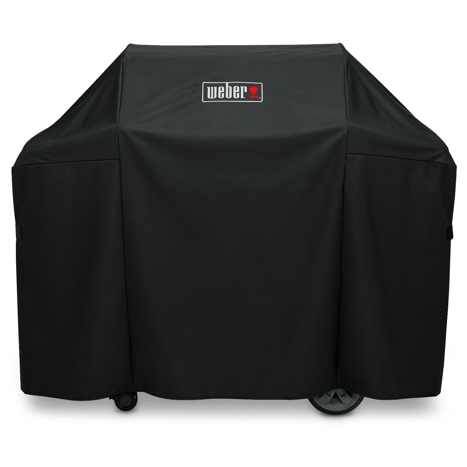 Weber 7130 Premium Polyester Genesis Ii 3b Grill Cover Bbqguys In 2020 Weber Grill Cover Grill Cover Gas Grill Covers