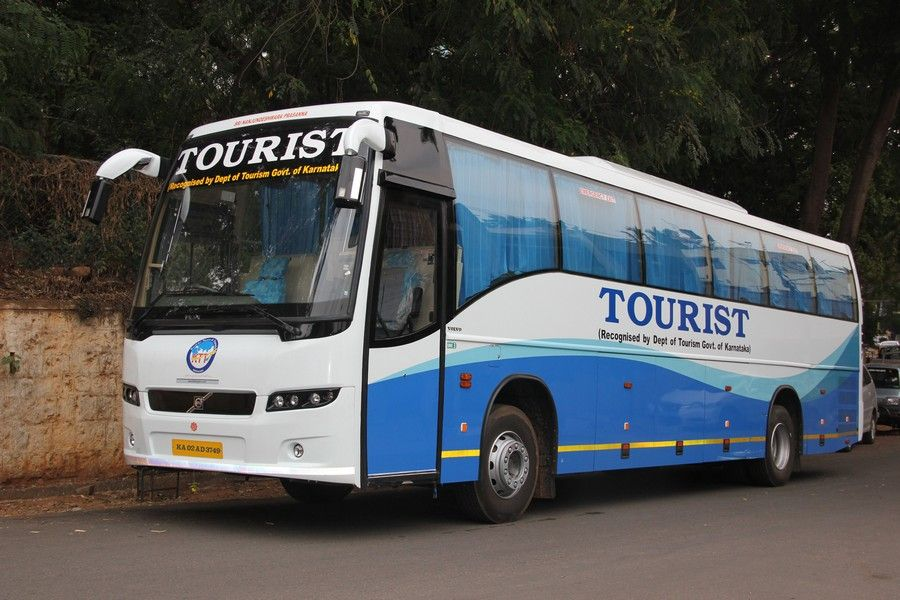 45 Seater Volvo Ac Bus Hire In Bangalore Call Now At 91