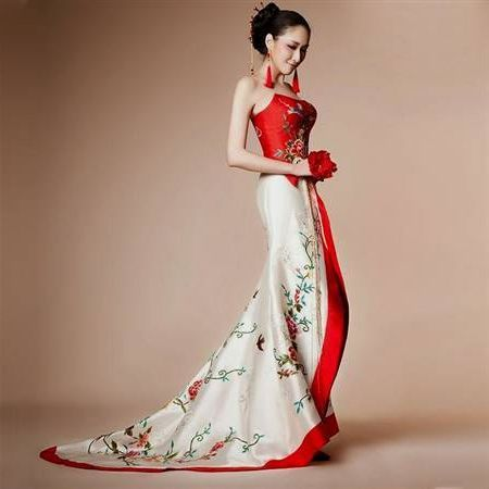 f6b027701eb8b Cool Traditional Chinese White Wedding Dress 2018-2019 | Wedding in ...