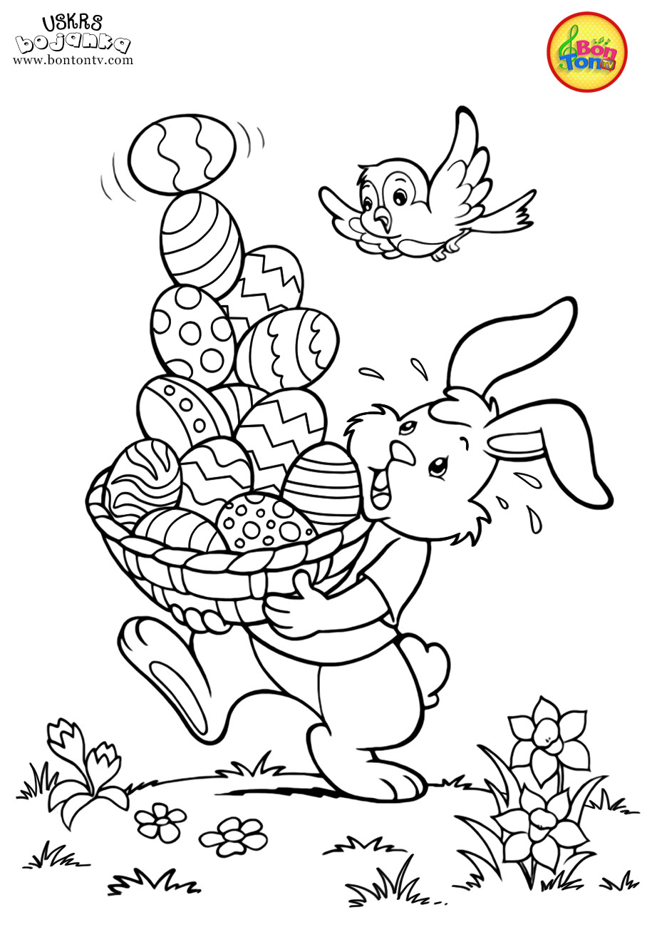 Easter Coloring Pages Uskrs Bojanke Za Djecu Free Printables Easter Bunny Eggs Chicks A Easter Coloring Pages Easter Coloring Sheets Cute Coloring Pages