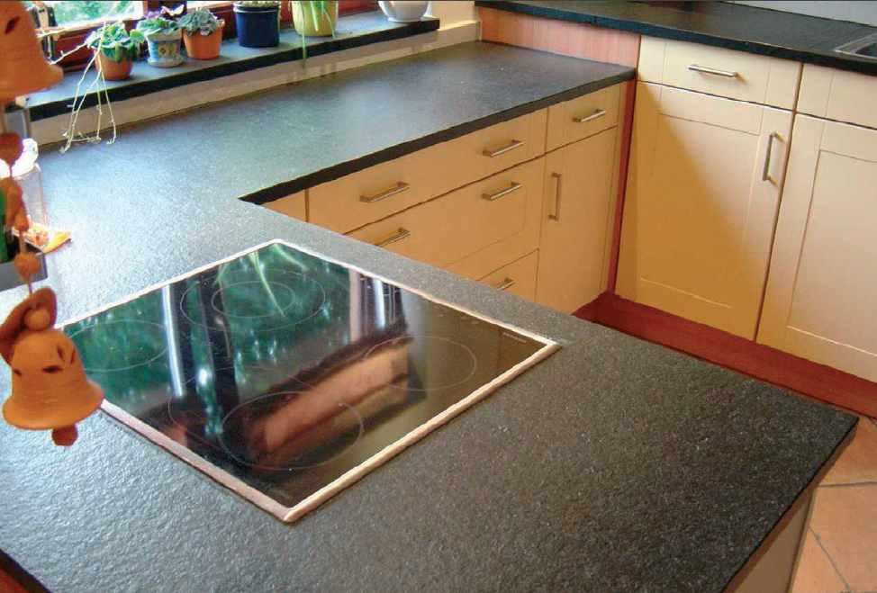 Kuchenarbeitsplatte Granit Geflammt Und Geburstet Arbeitsplatte In 2020 Granit Arbeitsplatte Arbeitsplatte Holz Arbeitsplatte