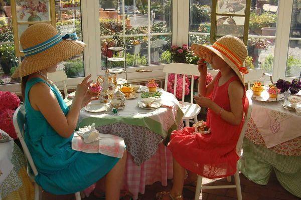 Elegant Tea Parties For Children Girls Tea Party Tea Party Menu