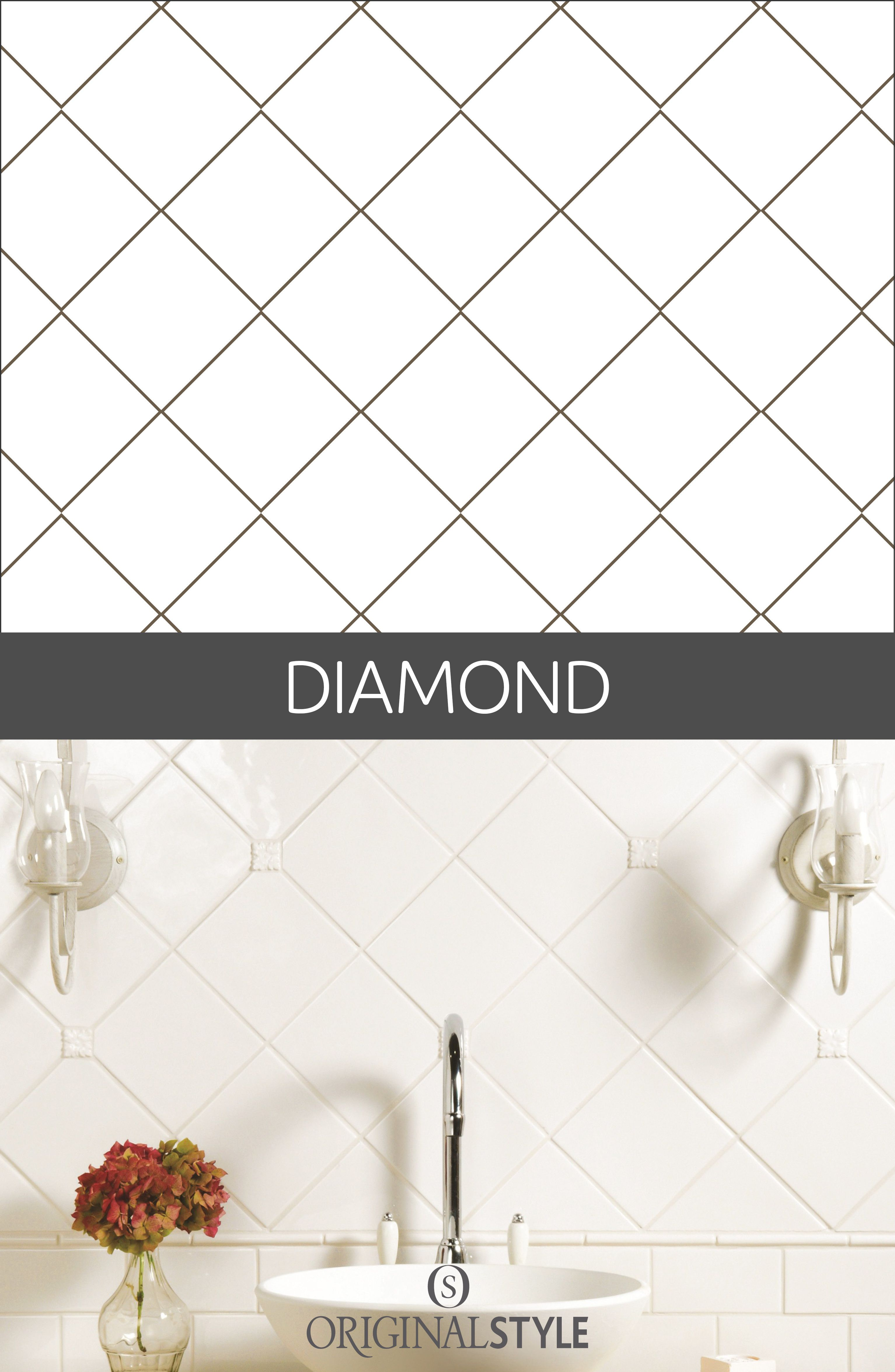 Your Guide To Tile Pattern Layouts Tile Layout Tile Layout Patterns Patterned Bathroom Tiles