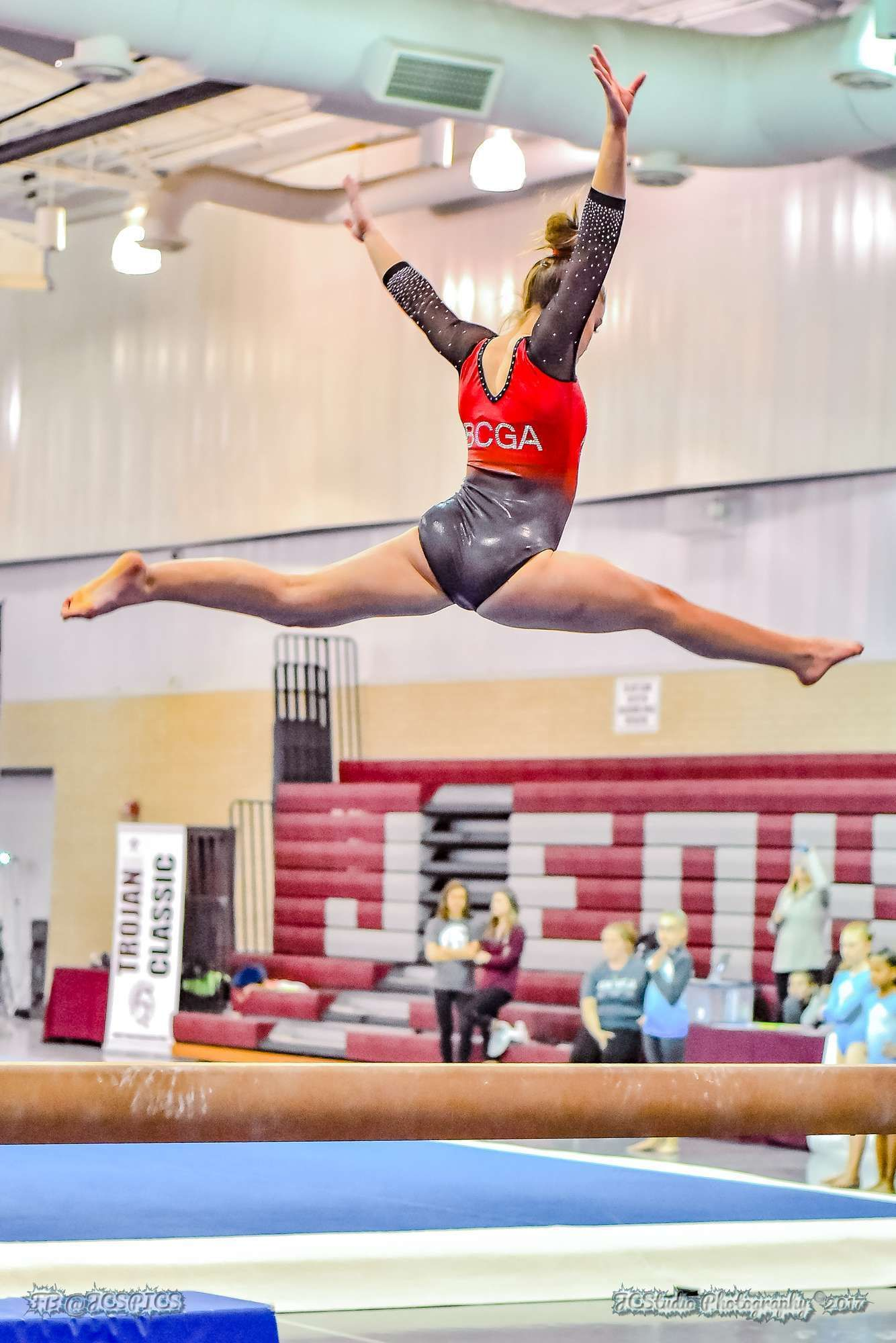 Jenks Gymnastics Meet 2017 Gymnastics pictures