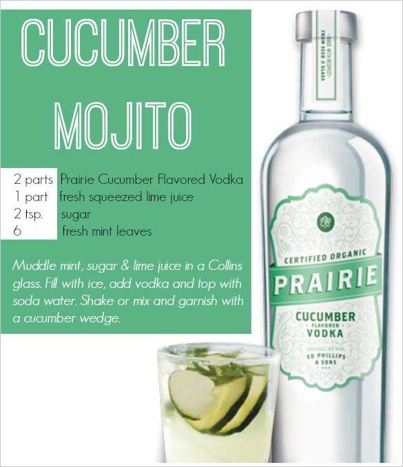 Cucumber Mojito Recipe And Prairie Organic Spirits Review