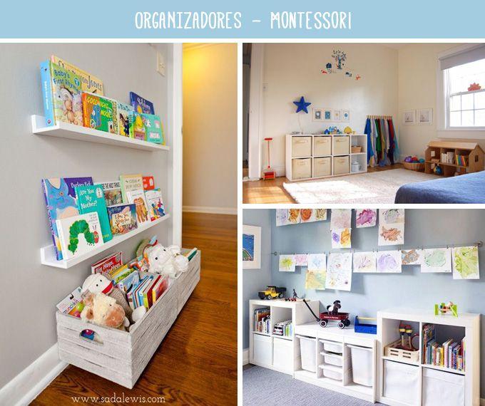 habitacin Montessori para nios  Decoracin  Habitacin