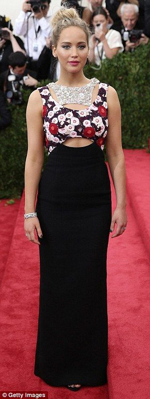 That's a pretty penny: Jennifer Lawrence, pictured at a New York event in May, will earn a...