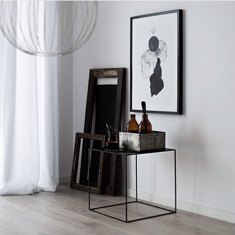 The Twin 42 Table In Black Photographed By Annabylove