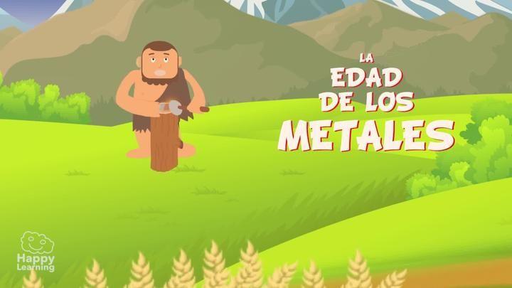 La Edad De Los Metales Comienza Cuando Los Humanos Empiezan A Fabricar Sus Herramientas Con Metales En Lugar De Edad De Los Metales Videos Educativos Neolitico