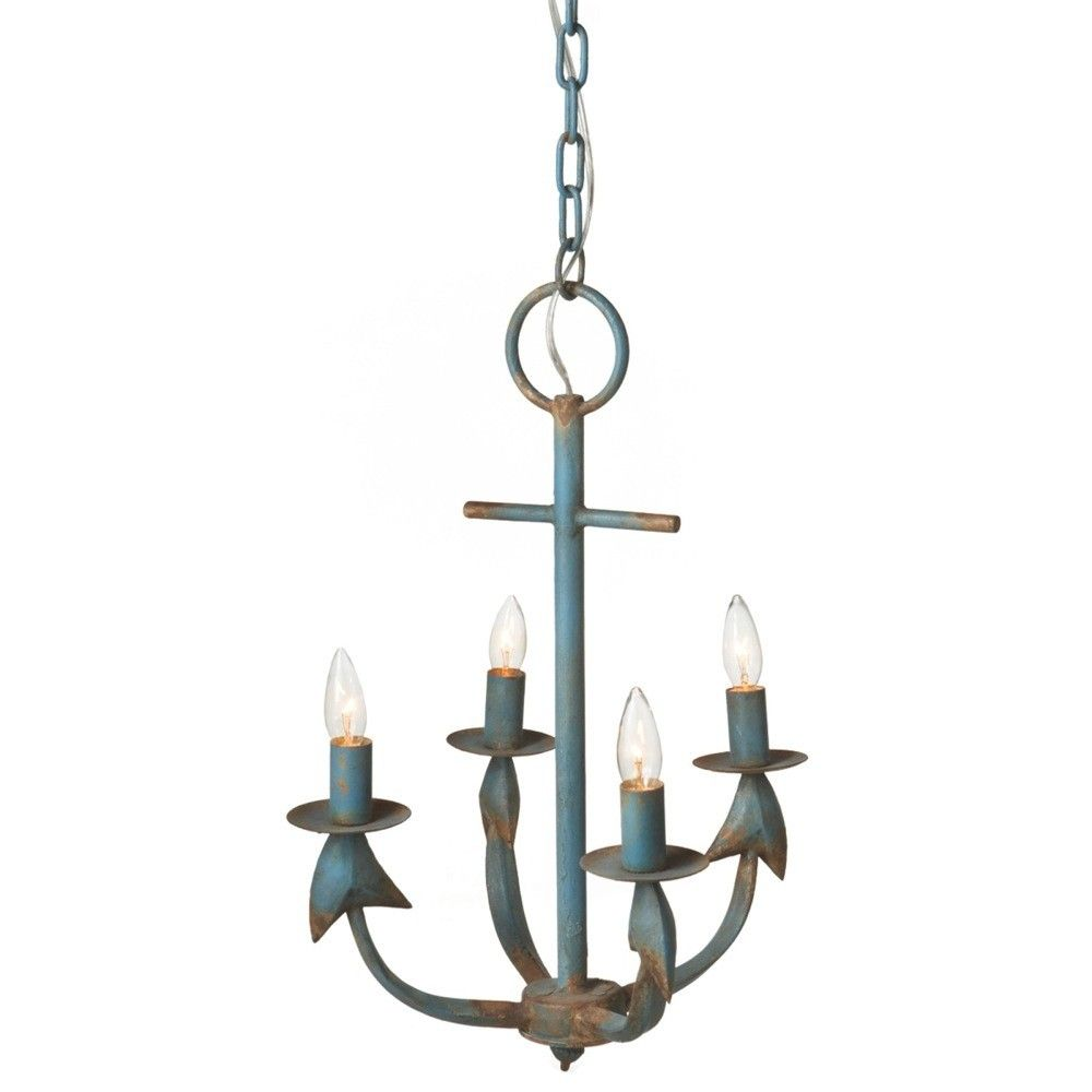 Cheverny 4 Light Candle Chandelier