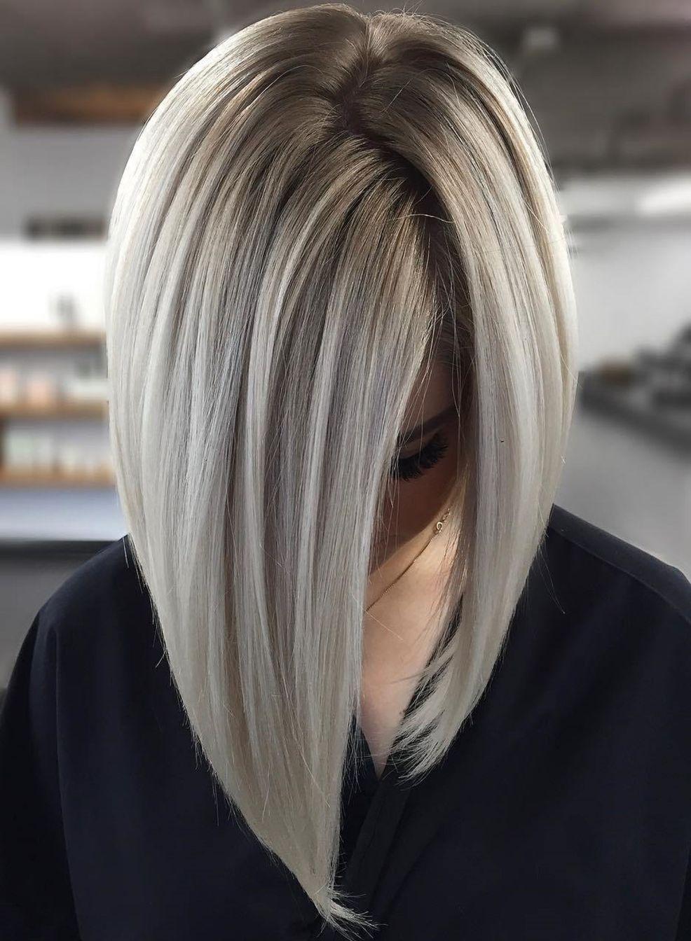 70 Perfect Medium Length Hairstyles For Thin Hair In 2019 Hair