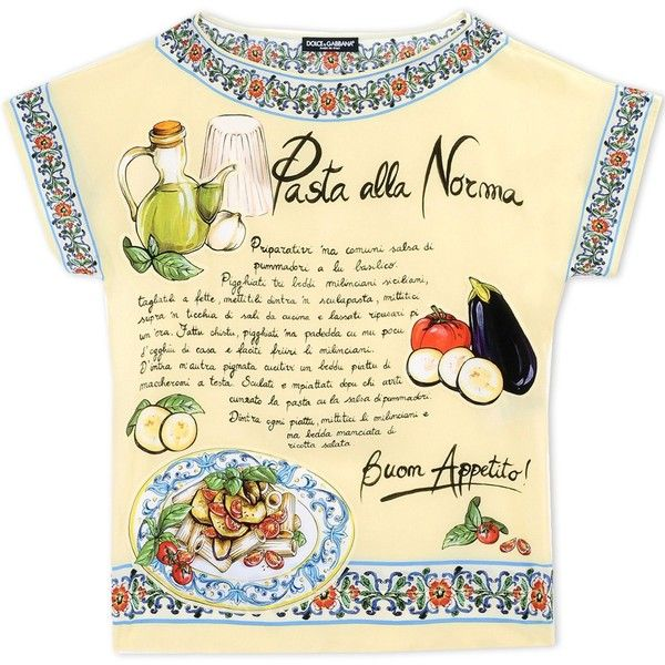 Dolce & Gabbana Blouse (5.890 NOK) ❤ liked on Polyvore featuring tops, blouses, blusas, shirts, light yellow, pattern blouse, round collar shirt, dolce gabbana shirt, print blouse and colorful shirts