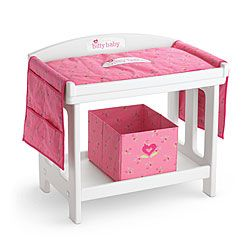 Great American Girl® Dolls: Changing Table Set DONT HAVE MUCH FURNITURE FOR MY  BIDDIE BABIES