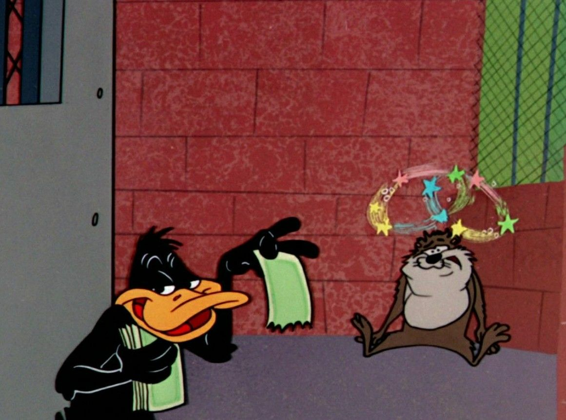 Daffy Duck Tasmanian Devil